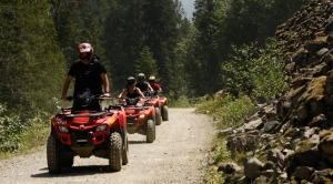 ATV rides at cougar mountain.