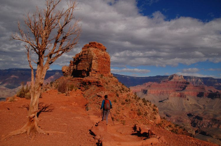 A beautiful hike in Grand Canyon
